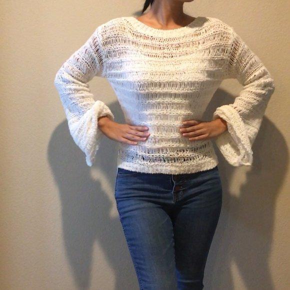 NEW Band of Gypsies White Sweater